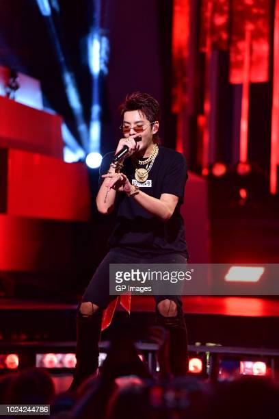 Kris Wu performs at the 2018 iHeartRADIO MuchMusic Video Awards at MuchMusic HQ on August 26 2018 in Toronto Canada