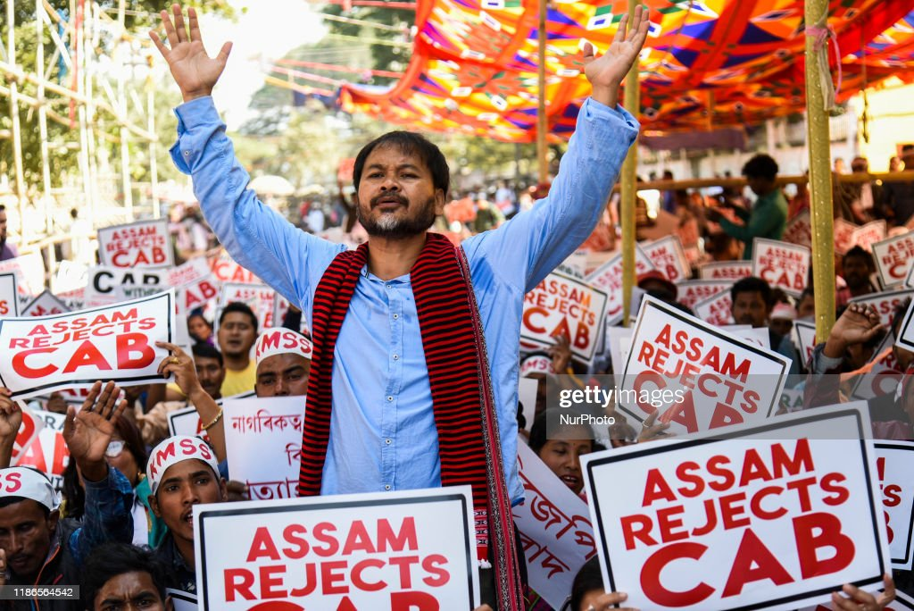 Protest Against Citizenship Amendment Bill : News Photo