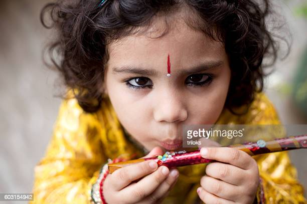 krishna janmashtami - lord krishna stock photos and pictures