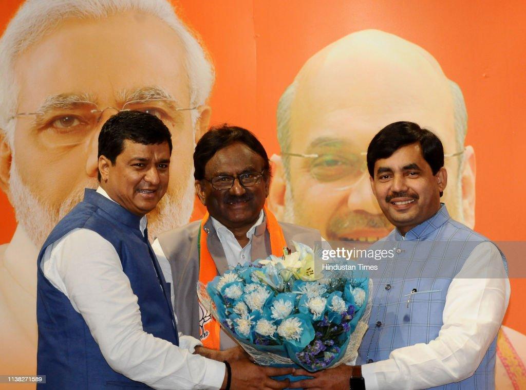 IND: Former Congress MP S Krishna Kumar Joins BJP