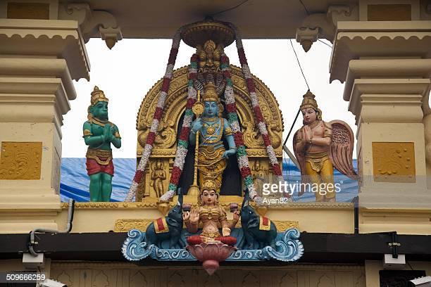 krishna temple - goddess lakshmi stock photos and pictures