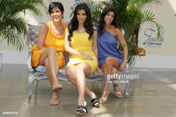 KrisKim and Kourtney Kardashian