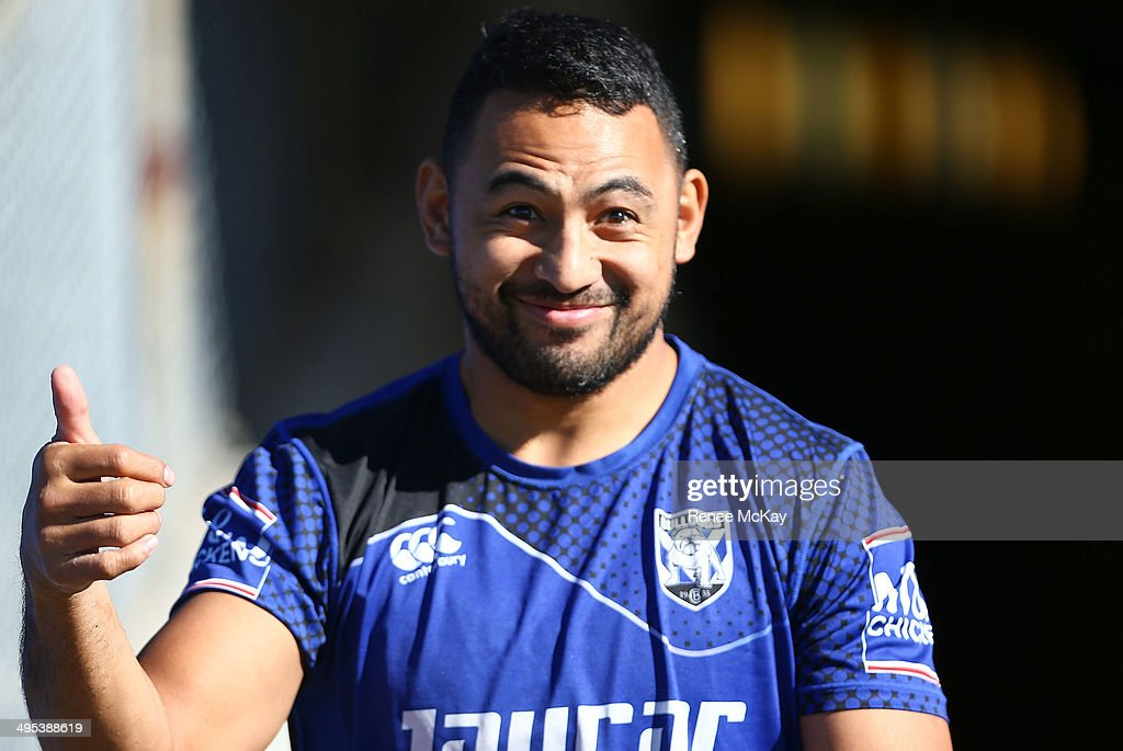 Canterbury Bulldogs Training Session
