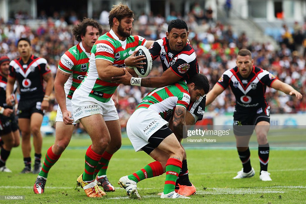 NRL Rd 7 - Warriors v Rabbitohs