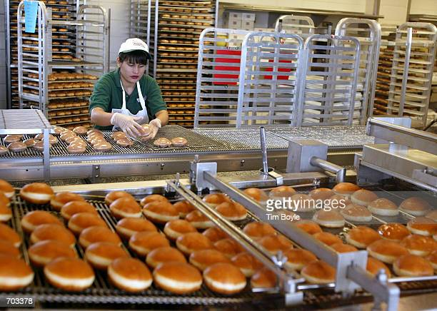 krispy kreme doughnuts stock photos and pictures getty. Black Bedroom Furniture Sets. Home Design Ideas