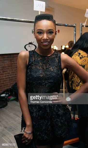 Kriss Mincey attends as HSN Presents Serena Williams Signature Statement Collection Fashion Show at Kia STYLE360 New York Fashion Week at...