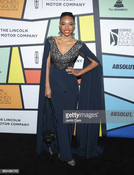 Kriss Mincey attends the 8th Annual Essence Black Women In Music Event at NeueHouse Hollywood on February 9 2017 in Los Angeles California