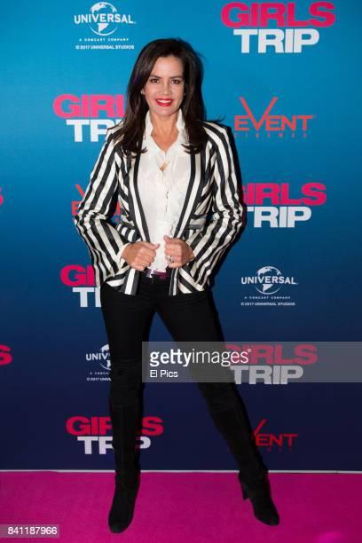 Krissy Marsh arrives ahead of a VIP screening of GIRLS TRIP at Event Cinemas George Street on August 30 2017 in Sydney Australia