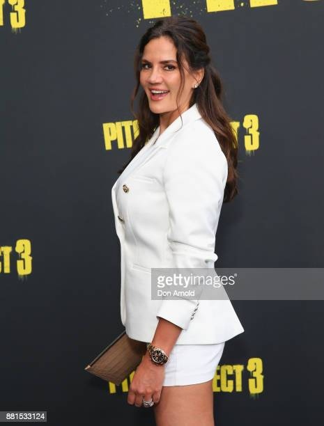 Krissy Marsh arrives ahead of the Australian Premiere of Pitch Perfect 3 on November 29 2017 in Sydney Australia