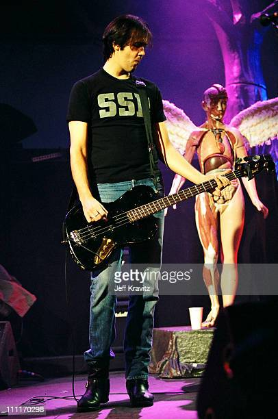 Krist Novoselic of Nirvana during MTV Live and Loud: Nirvana Performs Live - December 1993 at Pier 28 in Seattle, Washington, United States.