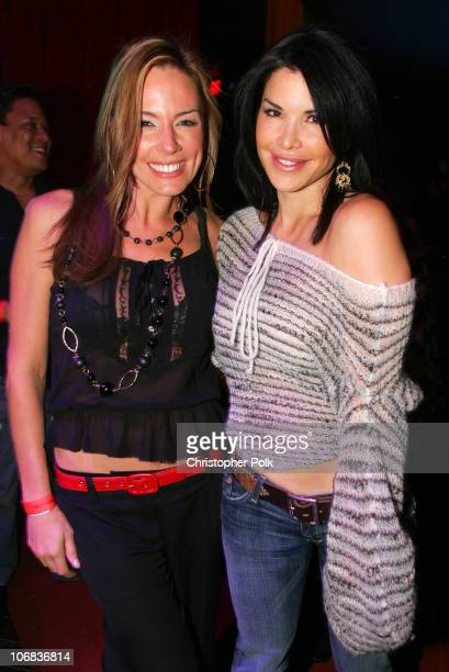 Krista Allen and Lauren Sanchez during Ubid.com Joins Forces with Hollywood Stars to Launch Celebrity Auction to Benefit Hurricane Victims - Inside...