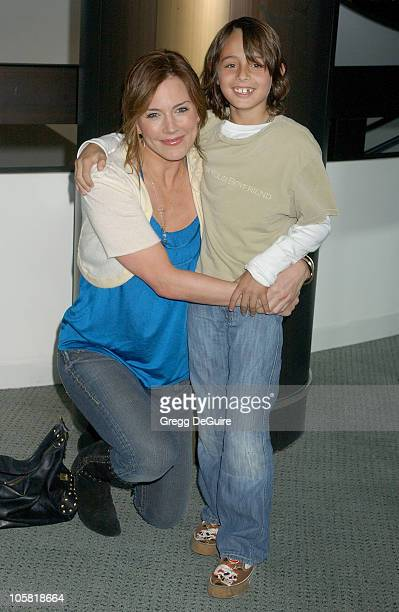 Krista Allen and son Jake during 'Keeping Up With The Steins' Los Angeles Premiere Arrivals at Pacific Design Center in West Hollywood California...