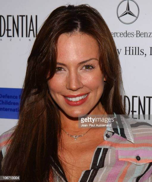 Krista Allen during Anne Hathaway Oliver Hudson and Anson Mount Host Fundraiser for Defense for Children International Hosted by LA Confidential at...