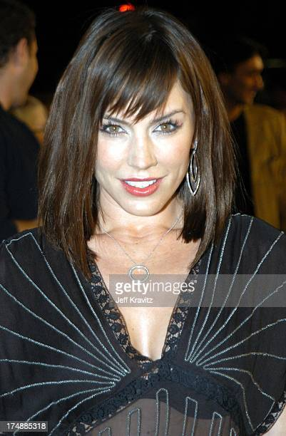 Krista Allen during Confessions of a Dangerous Mind Premiere at Mann Bruin Theatre in Westwood, California, United States.