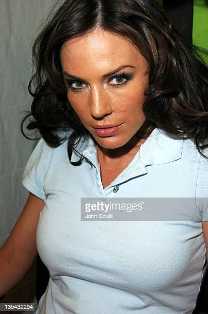 Krista Allen during Garnier Fructis Presents the Fred Segal Beauty Maxim Magazine Hot 100 Salon at Hard Rock Hotel Casino in Las Vegas Nevada United...