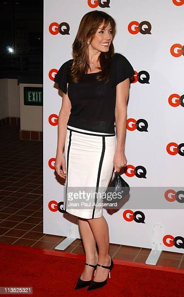 Krista Allen during GQ Magazine 2004 NBA AllStar Party Arrivals at Astra West in West Hollywood California United States