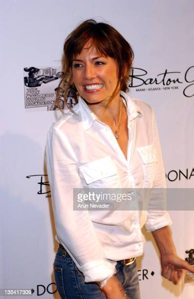 Krista Allen during Grand Opening Of The Donald J Pliner Boutique In Beverly Hills Benefiting The Mark Wahlberg Youth Foundation Arrivals at Donald J...