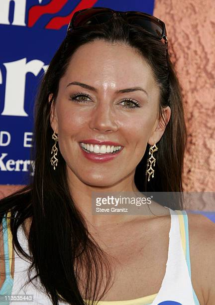 Krista Allen during Hollywood Gathers To Celebrate Presidential Candidate John Kerry at The Music Box Henry Fonda Theater in Hollywood California...