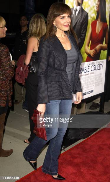 """Krista Allen during """"Intolerable Cruelty"""" Premiere - Red Carpet at Academy Theater in Los Angeles, California, United States."""