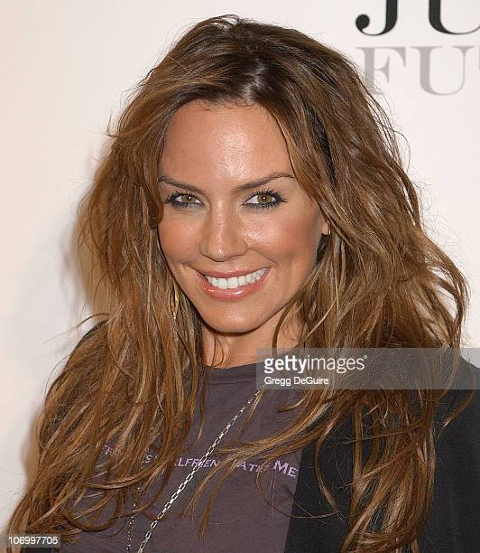 Krista Allen during Justin Timberlake Celebrates the Release of His Album Futuresex/Lovesounds at Miauhaus Studios in Los Angeles California United...