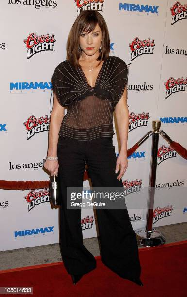 Krista Allen during Los Angeles Premiere Of 'Confessions Of A Dangerous Mind' at Mann Bruin Theatre in Westwood California United States