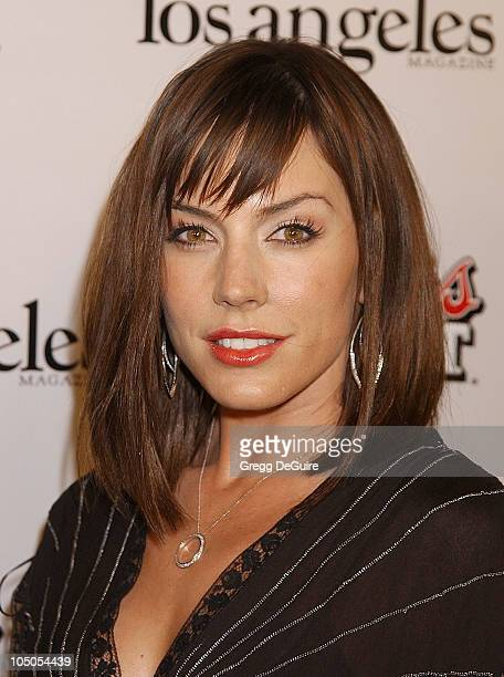 "Krista Allen during Los Angeles Premiere Of ""Confessions Of A Dangerous Mind"" at Mann Bruin Theatre in Westwood, California, United States."