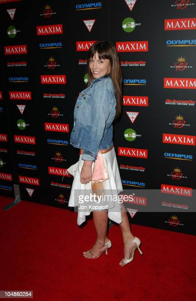 Krista Allen during Maxim Magazine's Annual Hot 100 Party at 1400 Ivar in Hollywood CA United States