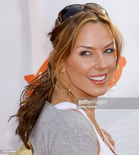 Krista Allen during Nickelodeon's 18th Annual Kids Choice Awards Arrivals at UCLA Pauley Pavilion in Westwood California United States