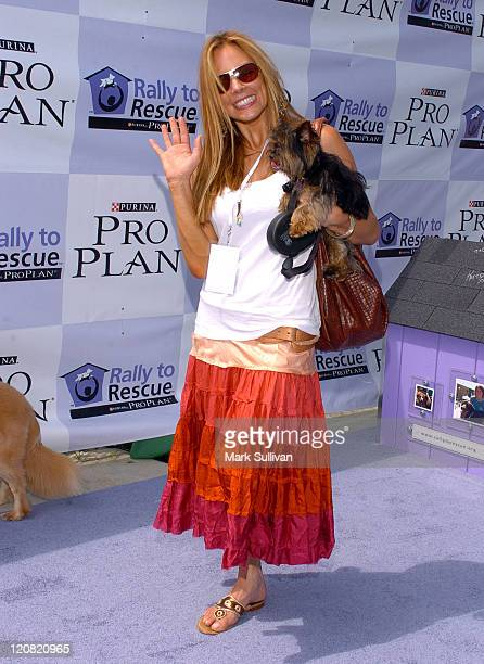 Krista Allen during Purina's Rally To Resuce 2005 Purple Carpet at Barrington Recreational Center in Brentwood California United States