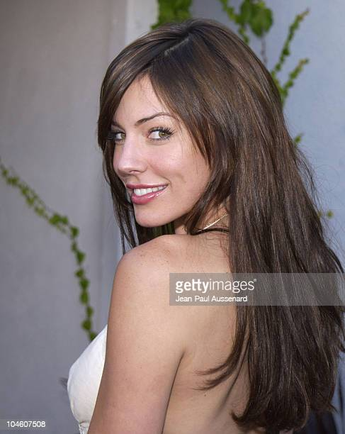 Krista Allen during Shape Up For Summer at The Parlour at The Parlour in Los Angeles California United States