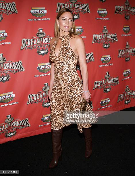 Krista Allen during Spike TV's 'Scream Awards 2006' Arrivals at Pantages Theater in Hollywood California United States