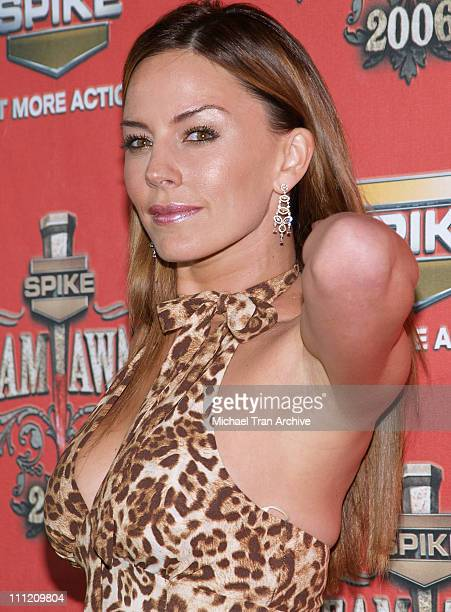 Krista Allen during Spike TV's Scream Awards 2006 Arrivals at Pantages Theater in Hollywood California United States