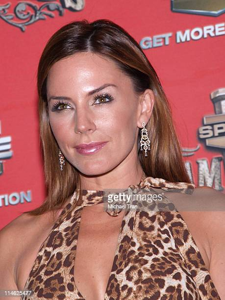Krista Allen during Spike TV's 'Scream Awards 2006' Press Room at Pantages Theater in Hollywood California United States