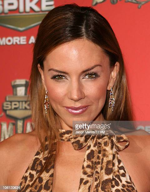 Krista Allen during Spike TV's Scream Awards 2006 Red Carpet at Pantages Theater in Hollywood California United States