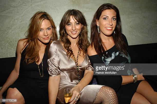 Krista Allen Shara Koplowitz and Jessica Meisels attend Elisabeth Rohm and 7th on Sixth host Hurricane Relief Benefit on occasion of artist Hunt...