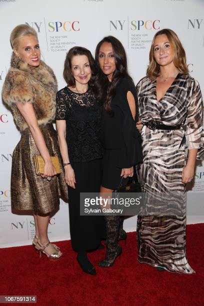 Krista Corl Dr Mary Pulido Vicky Cornell and Alexandra Osipow attend The New York Society For The Prevention Of Cruelty To Children's 2018 Food Wine...