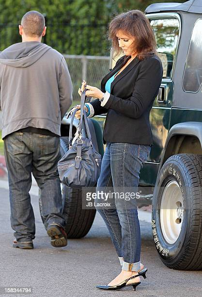 Krista Kay Keller Stodden is seen on December 13 2012 in Los Angeles California