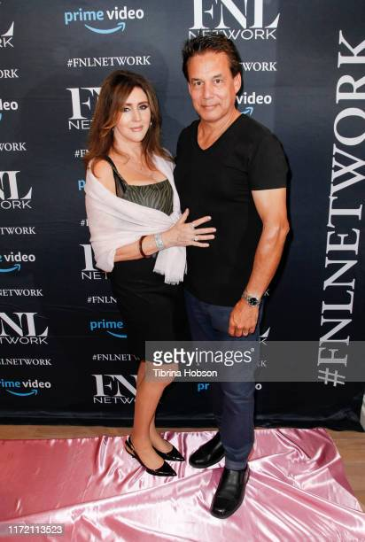 Krista Keller and Reggie Salazar attend the premiere of FNL Network's Courtney a reality show about Courtney Stodden on September 03 2019 in Beverly...