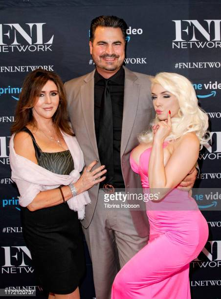 Krista Keller Rocco Leo Gaglioti and Courtney Stodden attend the premiere of FNL Network's Courtney a reality show about Courtney Stodden on...