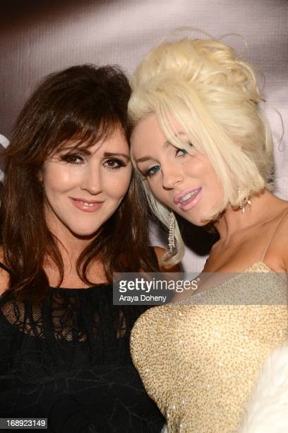 Krista Keller Stodden and Courtney Stodden attend the Dr Ava Cadell's Sizzling Sexy Summer of 2013 seminar at Shekhar Rahate Haute Couture Showroom...