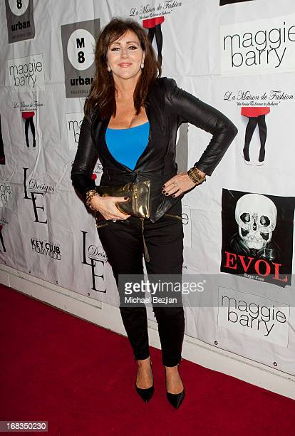 Krista Keller Stodden attends Celebrity Fashion Designer Maggie Barry Street Launch Party For M8 at La Maison de Fashion on May 8 2013 in Hollywood...
