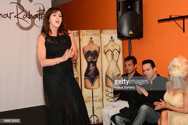 Krista Keller Stodden attends the Dr Ava Cadell's Sizzling Sexy Summer of 2013 Seminar at Shekhar Rahate Haute Couture Showroom on May 16 2013 in...