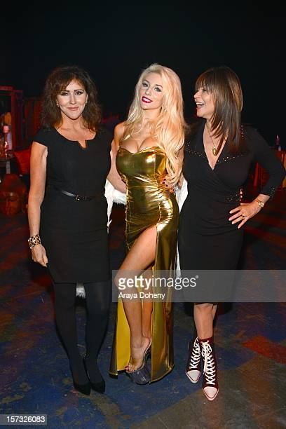 Krista Keller Stodden Courtney Stodden and Dr Ava Cadell attend the Muay Thai in America In Honor Of The King Celebrity VIP Event at Raleigh Studios...