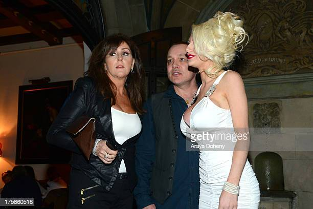 Krista Keller Stodden Doug Hutchison and Courtney Stodden attend an exclusive party to celebrate the launch of Passion and Pleasure hosted by Tracey...