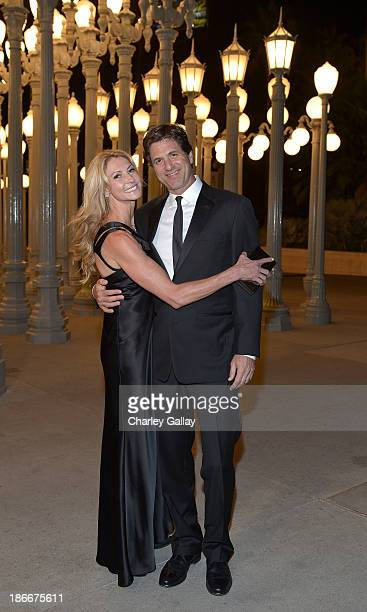 Krista Levitan and Steven Levitan attend the LACMA 2013 Art Film Gala honoring Martin Scorsese and David Hockney presented by Gucci at LACMA on...