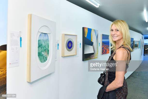 Krista Levitan attends Venice Family Clinic Art Walk Auctions VIP Preview on May 20 2017 in Venice California