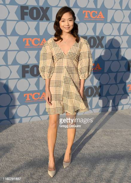 Krista Marie Yu arrives at the FOX Summer TCA 2019 AllStar Party at Fox Studios on August 7 2019 in Los Angeles California