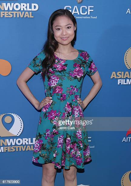 Krista Marie Yu attends the 2nd Annual Asian World Film Festival Opening Night at ArcLight Cinemas on October 24 2016 in Culver City California