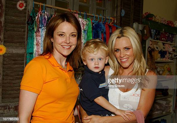 Krista Miller and Jenny McCarthy with son Evan Asher