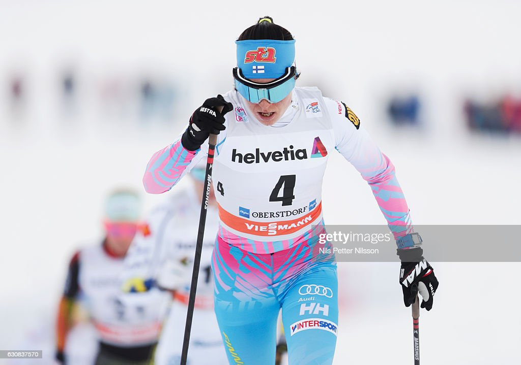 FIS Tour De Ski Oberstdorf - Women's Skiathlon race